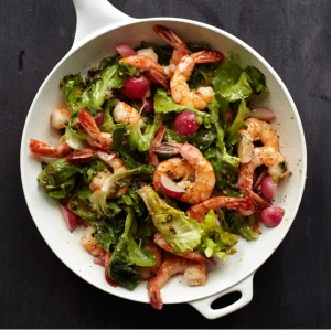warmshrimpandescarolesalad